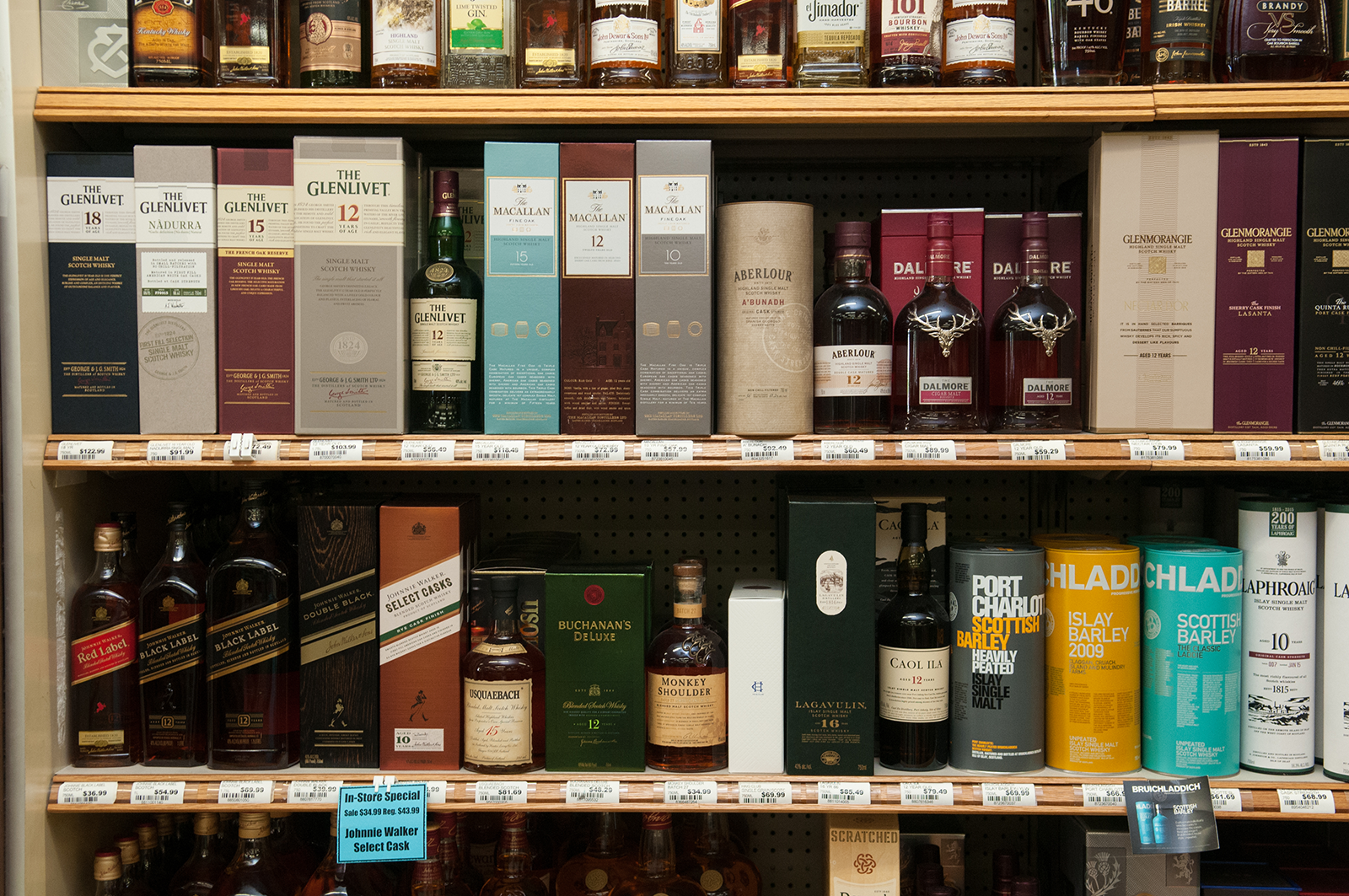 liquor sale lists