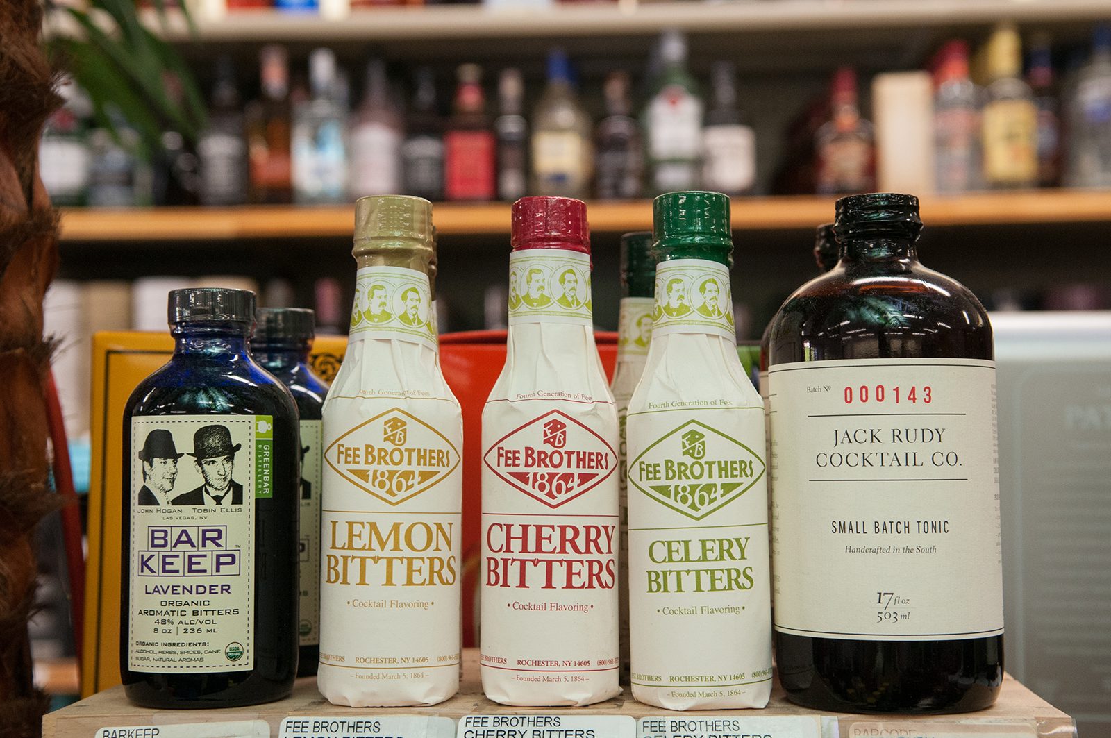 Top-Shelf Mixers